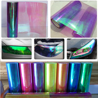 Wholesale 0 x10m x33ft Neo Chameleon Purple Tint Vinyl Wrap Car Headlight vinyl Film Taillight Fog Lamp tint