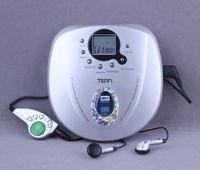 Wholesale Taiwan TERA portable CD player Walkman CD player supports MP3 CD in English