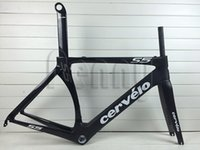 bikes - 2015 New hot S5 full carbon road bike frame cervelo s5 black Bicycle frameset BBright with size cm