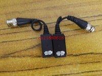 utp cable cat 5e - 600pcs pairs FreeShipping High Quality HD CVI TVI AHD Passive Single Channel Video Balun Cable Male BNC to UTP CAT e