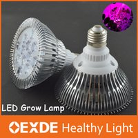 air cooled grow - 6pc Led Indoor Grow light Red Blu E27 w w w w w w w Growing Par hydroponics hps air cooled induction lamp