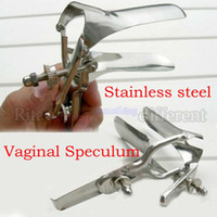 speculum - Sex products stainless steel aeterna genitals vaginal dilator vaginal speculum mirror duckbill medical device for women