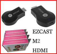 Wholesale M2 EzCast Miracast Dongle TV stick HDMI P DLNA Miracast Airplay MirrorOP Display Receiver Dongle Support Windows iOS Andriod
