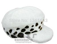 Wholesale Trafalgar Law Cosplay Hat beret halloween cosplay Anime One Piece Death Surgeon cosplay hat beret