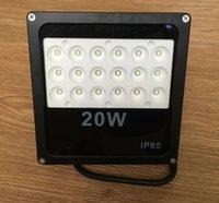 al por mayor 50w led light-Impermeable LED SMD Paisaje Foco luces de inundación colada de la pared Luz 10W 20W 30W 50W 100W exterior Foco Warm / 1pcs Blanca IP65 AC85-265V