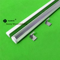 ap bar - 10pcs inch m led profile for strip corner aluminium profile with cover for led bar light AP
