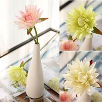 terra cotta - High Quality artificial flowers terra cotta silk flower lotus water lily artificial flower dining table flowers