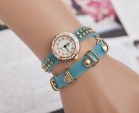 dgh - dgh Women Vine Rivets Punk Bracelet Watches Infinity Twisted Watches Women Bracelet Watches Quartz watches Wrist Watches