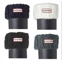 fleece socks - HOT Women s knit Cuff Hunter Welly Long Socks For Tall Rain Boots Liners