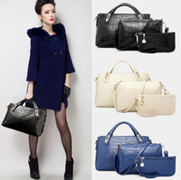 ladies pu bags - New Arrivals Women Lady IN Handbag Shoulder Bags Tote Purse PU Leather Ladies Messenger Hobo Bag BX212