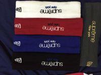 basketball headbands - brand USA newera logo FLEECE HEADBAND Fashion Sports gift for basketball supreme sweatband Summer basketball headband