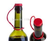 achat en gros de vin couvercle de gobelet gros-Vente en gros-3 pcs vin bouchon de bouteille de bière bouchons de silicone de la coupe du couvercle de bouteille en verre, couvercles de piston