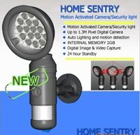 Wholesale Motion Activated Camera Security light motion Auto Lighting and motion detection detection Home Sentry support SD card ZR734