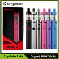 battery replacement kits - 100 Authentic Kanger SUBVOD Kit SUBVOD Starter Kit with Kangertech mAh SUBVOD Battery SSOCC Replacement Coil Toptank Nano Atomizer