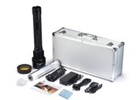 Wholesale Super powerful W W W three modes HID flashlight xenon hid light mah battery capacity lumens