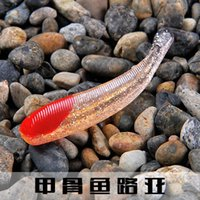 Wholesale JigFish road and soft bait fishing lure red worm bait fish bionic soft soft maggot factory direct