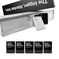 Wholesale Against Humanity Cards Game Bigger Black Box with US Full Expansion set Cards on promotion