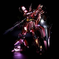 big msn - Japanese anime metal Plating color series MSN SAZABI Gundam Ver ka model cm Robot Puzzle assembled boy toys gifts