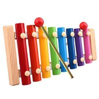 baby development exercises - 2015 New learning education toys Baby Kid Musical Toys Xylophone Wisdom Development Wooden Juguetes Instrument Snow