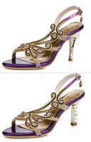 Wholesale bridal shoes Wedding pumps Sexy Wedding shoes Club Party High Heels lady shoes Sandals AS916