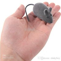 Wholesale 320pcs Lifelike Mini Mouse Simulated Mice Toy with Sound Effect for Cat Pet Color Assorted