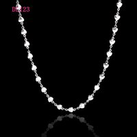 Wholesale quot mm LOVE pointed star Chain L Stainless Steel Floating Locket Chains Necklace DIY Jewelry Findings DL