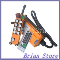 Wholesale 8 channel Speed Hoist Crane Truck Radio Remote Control System with E Stop