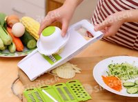 Wholesale Vegetable Fruit Multi Peeler Cutter Chopper Slicer Vegetables Fruits Dicer Peelers Carrot Cucumber Kitchen Cooking Free DHL Factory Direct