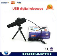 Wholesale New version high power telescope Innovative USB digital telescope with Megapixel HD Camera widely used in many feilds