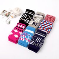cotton knitted gloves - 2015 Sale Spot Knitting Baby Gloves Cotton Flax Hot K2033 Computer Knitted Gloves Hair Color Mixed Double Magic Yiwu Manufacturers