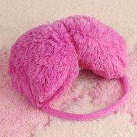 Wholesale 50pcs Women Ladies Girls Winter Warm Faux Fur Fleece Fluffy Ear Muff Warmers Earmuffs wx65