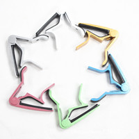 Wholesale DHL Fedex aluminum alloy Guitar Capo Clamp For Electric Acoustic SJ574