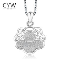 allergy card - S925 sterling silver jewelry inlaid CZ micro pig card evil anti allergy Necklace accessories factory direct spot