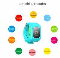 K5 Relojes inteligentes perdida anti reloj Wistwatch SOS Llamada Localizador Localizador Tracker para Niños Niño Niños GPS Monitor de la pulsera de regalo
