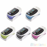 Wholesale New OLED Digital Finger Oximeter Pulsioximetro Blood Pulse Rate Heart Rate Monitor Fingertip Pulse Oximeter