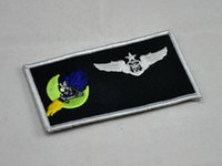 air force names - US Air Force th Special Operations Squadron Spectre ghost AC Gunship name card badge
