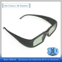 advertising bluetooth - New D Active Shutter Glasses USB Rechargeable Glasses for Enjoying Bluetooth D Projector And TV glasses advertising