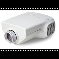 Wholesale Precious Mini HD Home Projectors Inch LCD Digital Projectors for Kids Metal Material Lumens Brightness Hot Sale