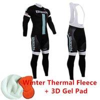 bianchi - BIANCHI ropa ciclismo Long Cycling Jersey MTB Bike Bicycle Cycling Clothing Winter Thermal Fleece bicicletas Jersey