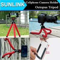Cheap Factory Price Car Phone Holder Flexible Octopus Tripod Bracket Selfie Stand Mount Monopod For Iphone Mobile Phone Camera
