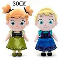 baby tv products - New Cute inch Elsa Anna Xmas Gift Plush Soft Kids Baby Toy In Movie Frozen Plush Toys Stuffed