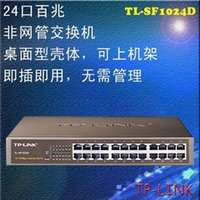 Wholesale TP LINK TL SF1024D port network switches Genius desktop switches