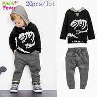 american parks - SamgamiBaby Brand Cotton long sleeve Jurassic Park dinosaurs hood coat pants outfits for baby boys Spring Autumn