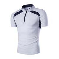 Wholesale 2016 Summer Brand Mens T shirt High Quality Sportswear Cotton Casual Clothing Short Sleeve Tees Sport Top For Men Hip Hop T88