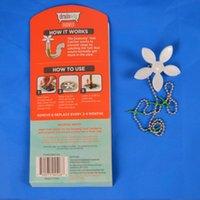 Wholesale FEDEX PACKS DrainWig Shower Drain Hair Catcher Packs follower style Never Clean a Clogged Drain Again