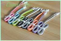 Wholesale 200pcs LED Light Micro USB V8 Flat Visible Flashing Noodle Data Charger Cable For Samsung S3 S4 HTC NOKIA