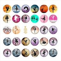 ballet suppliers - newest Dance ballet snap button jewelry charm popper for bracelet GL038 noosa jewelry making supplier
