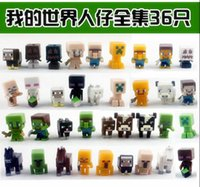 Wholesale 36 Style Minecraft Hand Office Doll kids toys Christmas toys