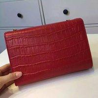alligator leather goods - Brand Women Purse Leather Shoulder Cross body TasselDesigner Bag Crocodile Classic Fashion Good Mini cm Retail