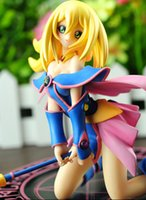 Wholesale Movie Yu Gi Oh The Dark Side of Dimensions Movie Dark Magician Girl Complete Figure